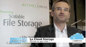 Philippe Boyon explique le Cloud Storage sur www.cloudnews.fr